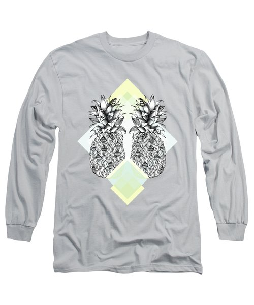 Tropical Long Sleeve T-Shirt by Barlena Illustrations