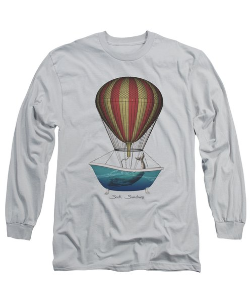 Seek Sanctuary Long Sleeve T-Shirt by Galen Valle