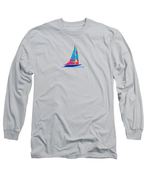 Yacht Luxury   Nautical   Beach Long Sleeve T-Shirt by Johannes Murat