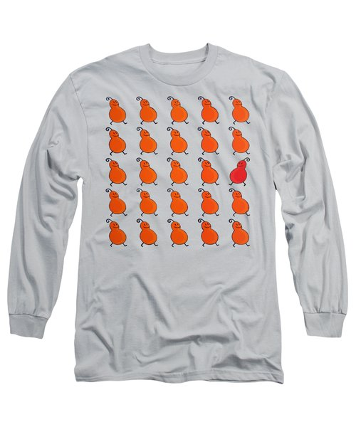 Your Own Path Is The Way Remix Long Sleeve T-Shirt by Oliver Johnston