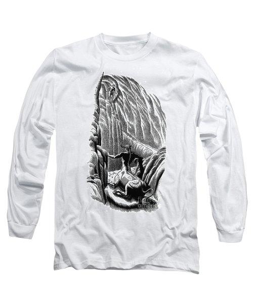 Minotaur, Legendary Creature Long Sleeve T-Shirt by Photo Researchers