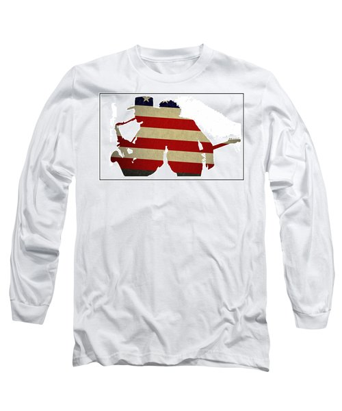 The Big Man And The Boss Long Sleeve T-Shirt by Bill Cannon