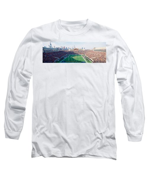 High Angle View Of Spectators Long Sleeve T-Shirt by Panoramic Images