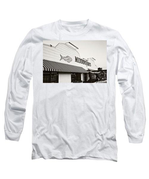 Middendorf's Long Sleeve T-Shirt by Scott Pellegrin