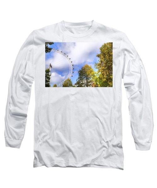London Long Sleeve T-Shirt by Joana Kruse