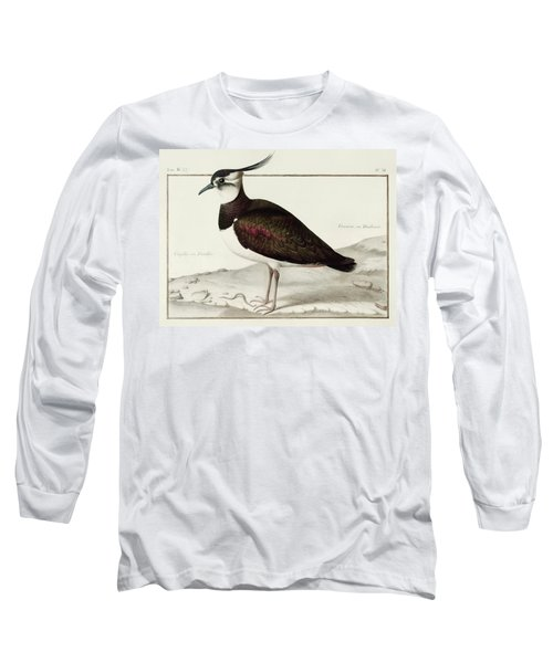 A Lapwing Long Sleeve T-Shirt by Nicolas Robert