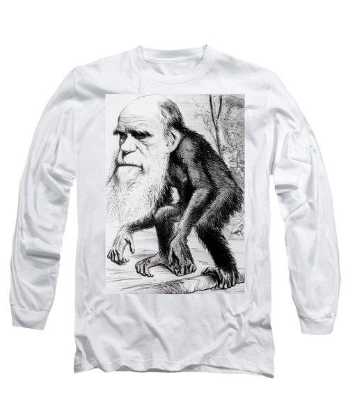 A Venerable Orang Outang Long Sleeve T-Shirt by English School