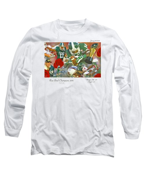A Very Sweet Rose Long Sleeve T-Shirt by John Farr