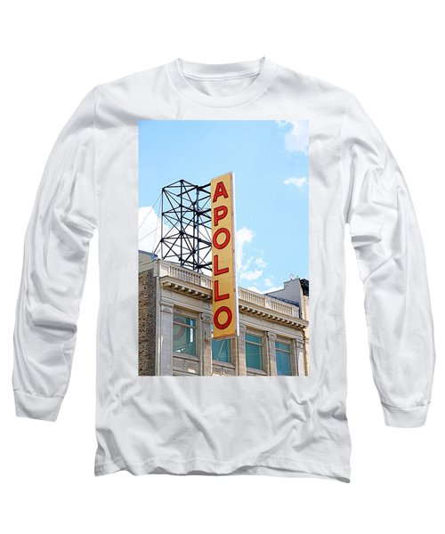 Apollo Theater Sign Long Sleeve T-Shirt by Valentino Visentini