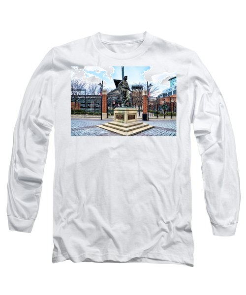 Babes Dream - Camden Yards Long Sleeve T-Shirt by Bill Cannon