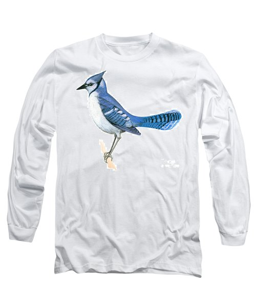 Blue Jay  Long Sleeve T-Shirt by Anonymous