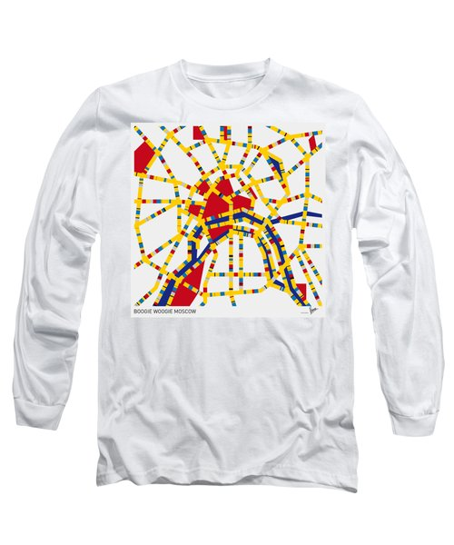 Boogie Woogie Moscow Long Sleeve T-Shirt by Chungkong Art