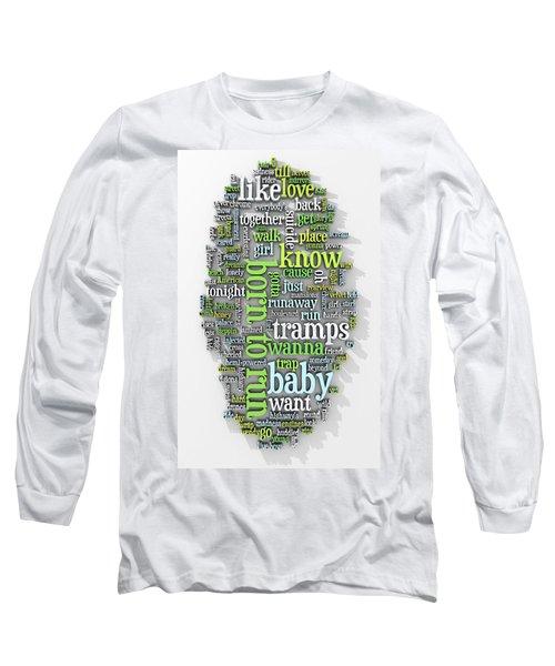 Born To Run Long Sleeve T-Shirt by Scott Norris