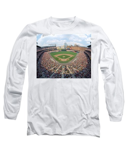 Camden Yards Baltimore Md Long Sleeve T-Shirt by Panoramic Images
