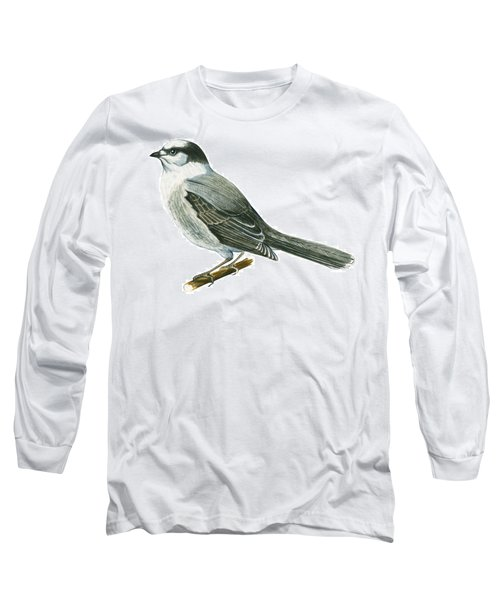 Canada Jay Long Sleeve T-Shirt by Anonymous