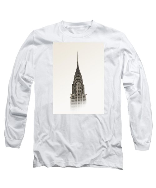 Chrysler Building - Nyc Long Sleeve T-Shirt by Nicklas Gustafsson