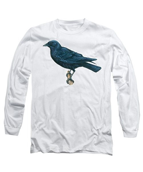 Crow Long Sleeve T-Shirt by Anonymous