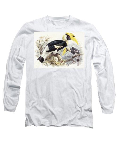 Dichocerus Bicornis Long Sleeve T-Shirt by Johan Gerard Keulemans