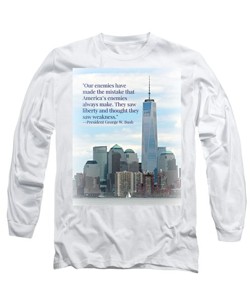 Freedom On The Rise Long Sleeve T-Shirt by Stephen Stookey