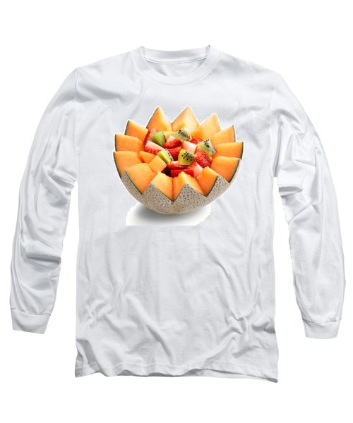 Fruit Salad Long Sleeve T-Shirt by Johan Swanepoel