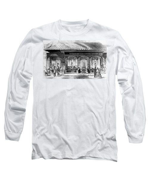 Goodyear Rubber Exhibit Long Sleeve T-Shirt by Underwood Archives