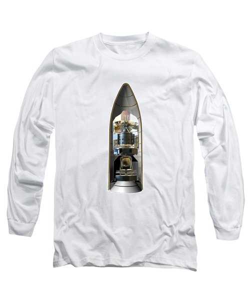 Long Sleeve T-Shirt featuring the photograph Herschel & Planck Launch Configuration by Science Source