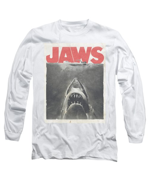 Jaws - Classic Fear Long Sleeve T-Shirt by Brand A