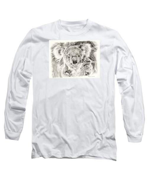 Koala Garage Girl Long Sleeve T-Shirt by Remrov