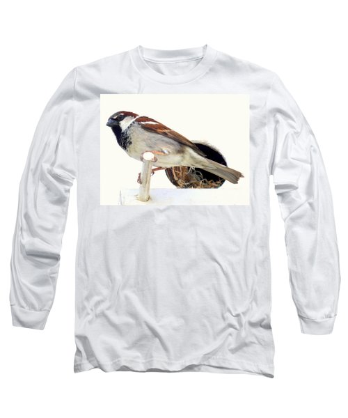 Little Sparrow Long Sleeve T-Shirt by Karen Wiles