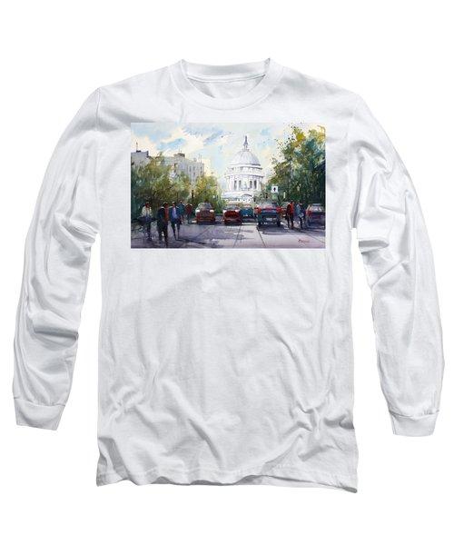 Madison - Capitol Long Sleeve T-Shirt by Ryan Radke