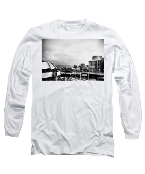 Minneapolis From The University Of Minnesota Long Sleeve T-Shirt by Tom Gort