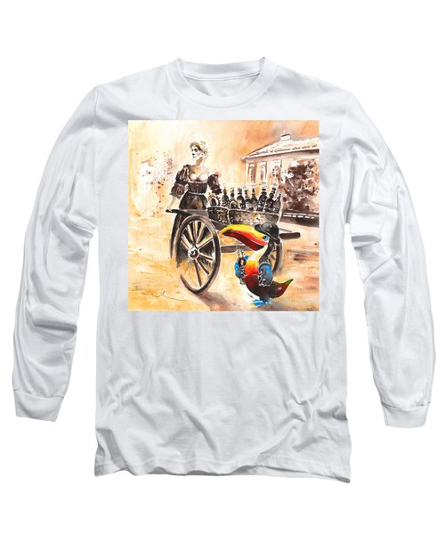 Molly Malone Long Sleeve T-Shirt by Miki De Goodaboom