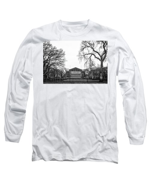 Northrop Auditorium At The University Of Minnesota Long Sleeve T-Shirt by Tom Gort