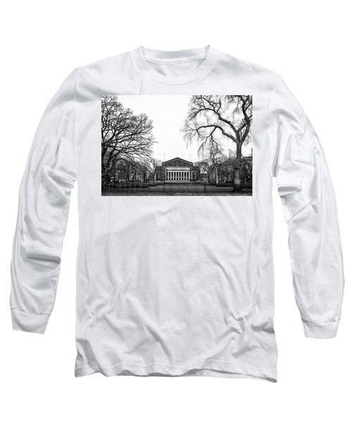 Northrop Auditorium At The University Of Minnesota Long Sleeve T-Shirt by Tom Gort