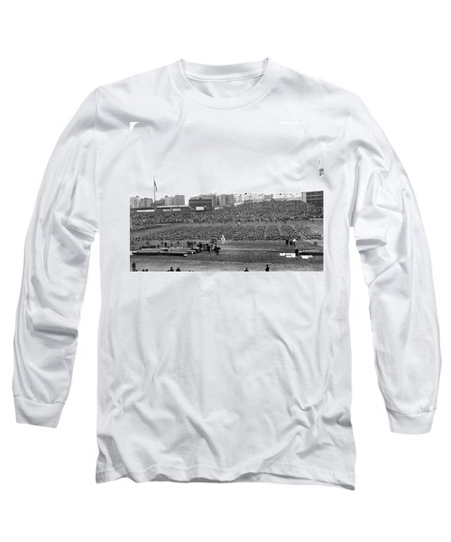 Notre Dame-army Football Game Long Sleeve T-Shirt by Underwood Archives