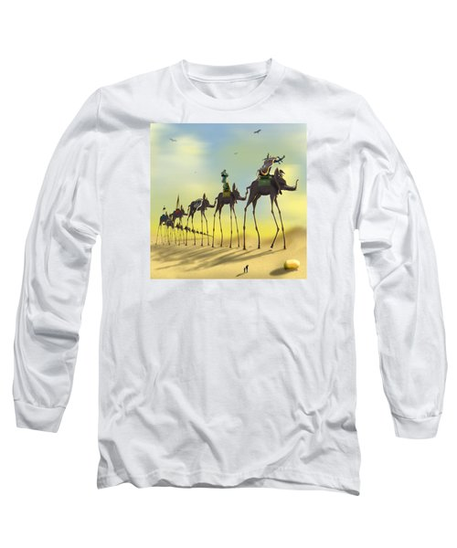 On The Move 2 Without Moon Long Sleeve T-Shirt by Mike McGlothlen