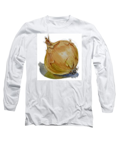 Onion Long Sleeve T-Shirt by Irina Sztukowski