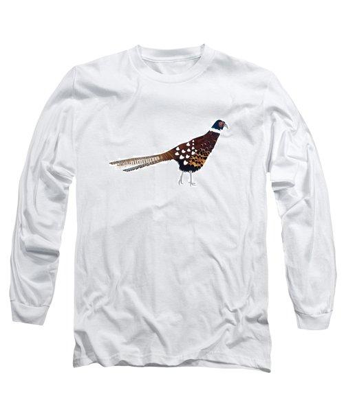 Pheasant Long Sleeve T-Shirt by Isobel Barber