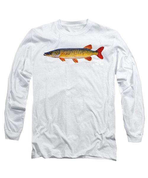 Pike Long Sleeve T-Shirt by Carey Chen
