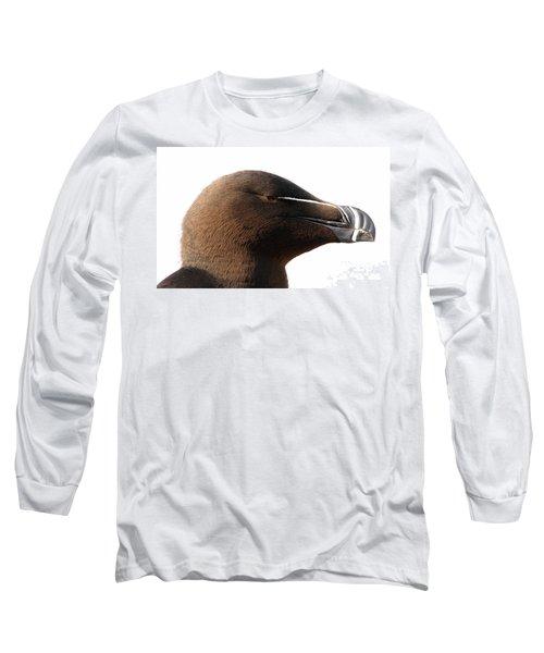 Razorbill Auk Long Sleeve T-Shirt by Jeannette Hunt