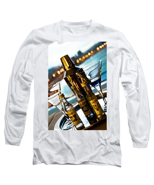 Ready For Drinks Long Sleeve T-Shirt by Sotiris Filippou