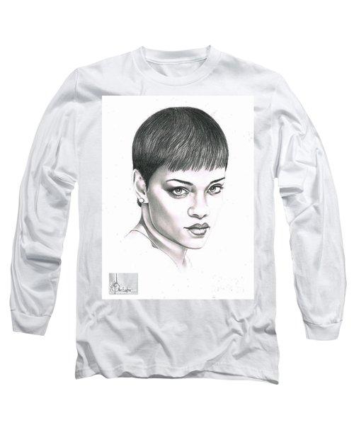 Rihanna Long Sleeve T-Shirt by Murphy Elliott