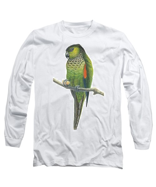 Rock Parakeet Long Sleeve T-Shirt by Anonymous