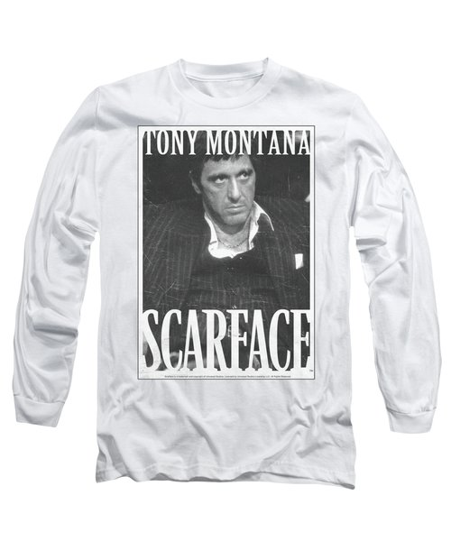 Scarface - Business Face Long Sleeve T-Shirt by Brand A