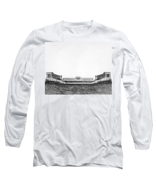 Soldiers' Field And Museum Long Sleeve T-Shirt by Underwood Archives