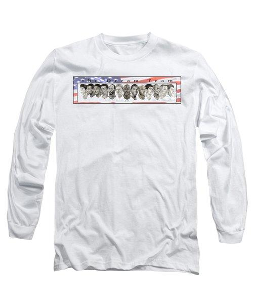 the Dream Team Long Sleeve T-Shirt by Tamir Barkan