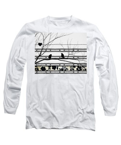 Two Is Better Long Sleeve T-Shirt by Gothicolors Donna