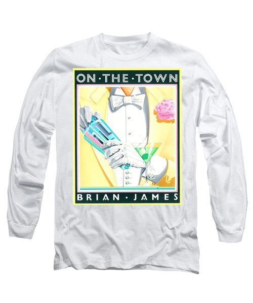 Untitled Long Sleeve T-Shirt by Brian James