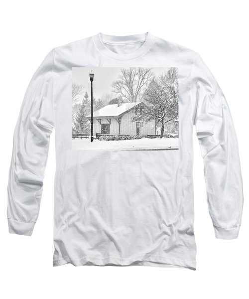 Whitehouse Train Station Long Sleeve T-Shirt by Jack Schultz