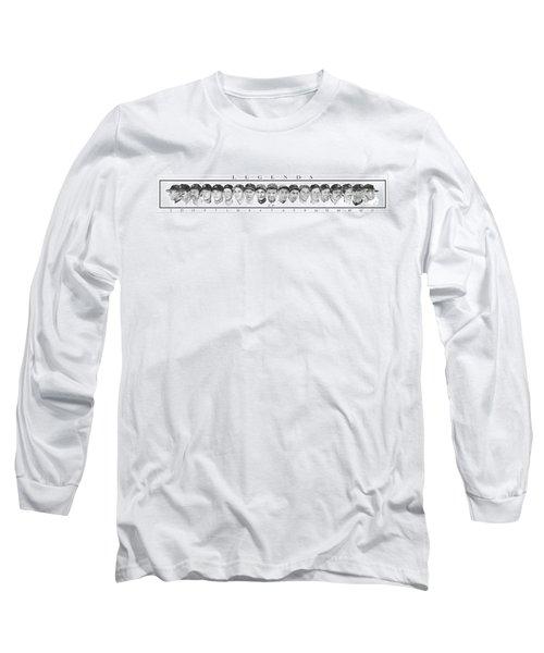 Yankees Long Sleeve T-Shirt by Tamir Barkan